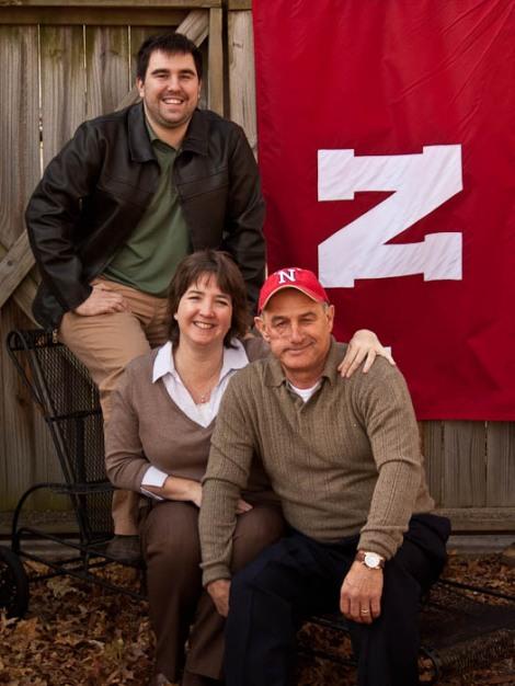 Jay, Christina, and Josh Liesveld - Family Portrait - Photography by Alyssa Corkill